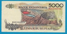 Bank Indonesia 5000 Lima Ribu Rupiah - Indonésie