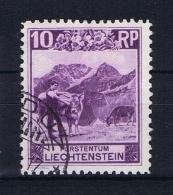 Liechtenstein: 1930:  Mi Nr 96 C  Used Perfo 11,5 X 10,5