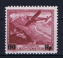 Liechtenstein: 1935:  Mi Nr 148 Airmail MH/* - Luchtpostzegels