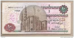 Egitto - Banconota Circolata Da 10 Sterline - 2000 - Egypt