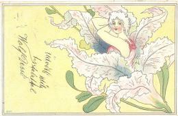 Blumenmädchen Um 1900 - Pin-Ups