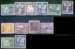 BRITISH GUIANA 308//19 VIEWS G VI - Britisch-Guayana (...-1966)