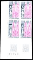 Yvert 1810, Scott 1405 Imperfcorner Block Of 4 St. Nicholas Basilica - Frankreich