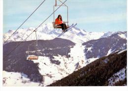 Arêches - Le Télésiège Du Pianay Et La Chaîne Du Mont Blanc - Non Classificati