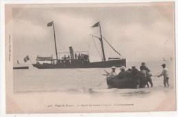 MORGAT - La Plage - Le Départ Du Bateau à Vapeur - L'embarquement - Morgat