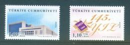 Turkey, Yvert No 3658/3659, MNH - Nuevos