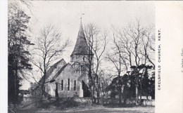 CHELSFIELD CHURCH, KENT - Inghilterra