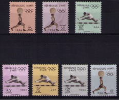 HAITI  Olympic Games - Ete 1964: Tokyo