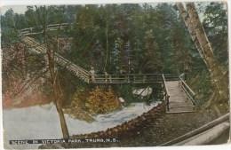 Vintage Postcard, Scene In Victoria Park, Truro, Nova Scotia (ref.# 813c) - Unclassified