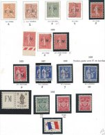 FRANCE - Franchise Militaire - Belle Collection Assez Complète - Franchise Militaire (timbres)