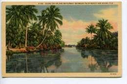 NB  Waterway Between Palm Beach And Miami Florida - Etats-Unis