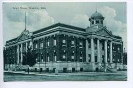 NB Ca 1910 Brandon Manitoba Court House - Manitoba