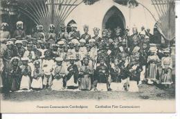 CAMBODGE - Premiers Communiants Cambodgiens - Cambodia