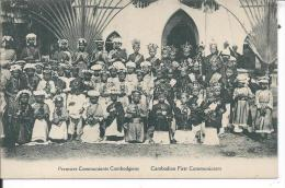 CAMBODGE - Premiers Communiants Cambodgiens