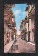 Colombia CARTAGENA Calle De Las Carretas  Postcard UNUSED - Colombie