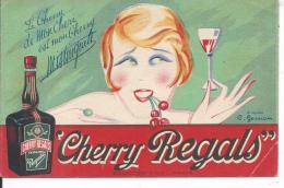 PUBLICITE - CHERRY REGALS - Werbepostkarten