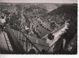 Cpsm De Rocamadour N°131 Chemin De Ronde Du Château - Rocamadour
