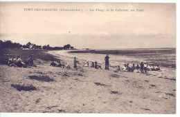 CPA 17 - PORT DES BARQUES - La Plage Et Le Calvaire... - Altri Comuni
