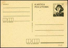 "Poland 1972, Postal Stationery ""Copernicus"", Cp 547, Mint - Interi Postali"