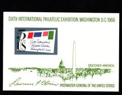 Lot Of 3 #1311, #1338F #1339 Plate # Blocks Of 4 Stamps, And Souvenir Sheet, 6th International Philatelic,Illinois, Flag - Plate Blocks & Sheetlets