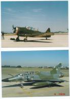 AVIATION AVION , Lot Ensemble De 2 PHOTOS D´amateur (1/ARMY Wheeler Field; 2/Avion Miliatire De Chasse 4 BD) Avions - Aviation