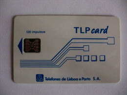 Phonecard/ Telécarte TLP Card  Portugal 120 Impulsos - Portugal