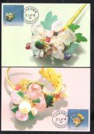 Maxi Cards(B) Taiwan 2007 Ancient Jewelry Stamps Jewel Pearl Jade Earring Hairpin Ring Turtle Mineral Art