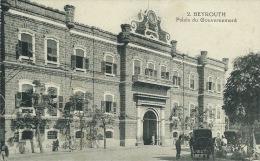 Beyrouth - Palais Du Gouvernement - 1921 ( Voir Verso ) - Liban