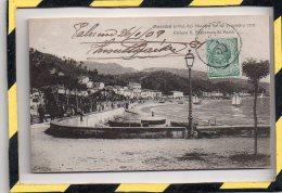 MESSINA. - . PRIMA DEL DISASTRO DEL 28 DECEMBRE 1908. RIVIERA S. FRANCESCO DI PAOLA - Messina