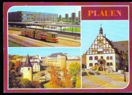 CP.   PLAUEN.  OBERER  BAHNHOF - Plauen