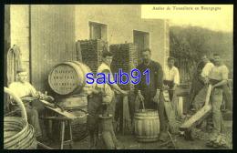 Reproduction CECODI - Atelier De Tonnellerie En Bourgogne - Vaigeon Chauveau Gevrey Chambertin - Réf: 28709 - Gevrey Chambertin