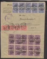 D.R.Dienst,Nr.29,Bogenteil Auf Brief (3770) - Officials