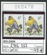 Buzin - Belgien - Belgique -  Belgium - Belgie - Michel 2716 Im Paar   - ** Mnh Neuf Postfris - Erlenzeisig - 1985-.. Birds (Buzin)