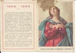 CAL098 - CALENDARIETTO 1958 - PIA OPERA CARITAS FRANCISCANA - Calendriers