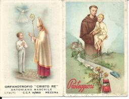 CAL118 - CALENDARIETTO 1961 - ORFANOTROFIO CRISTO RE - MESSINA - Calendari
