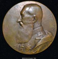 M00023 En Souvenir De La Naissance De Léopold II (1930) Et Léopold II Au Revers (134gr.) - Royal / Of Nobility