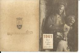 CAL121 - CALENDARIETTO 1961 - CASA DI REDENZIONE SOCIALE - Calendari