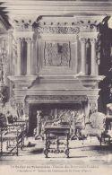 Cp , 85 , SAINT-CYR-en-TALMONDAIS , Château De La Cour D'Aron , La Cheminée Du Salon - Moutiers Les Mauxfaits