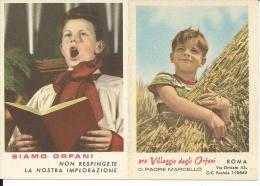 CAL123- CALENDARIETTO 1962 - PRO VILLAGGIO DEGLI ORFANI DI PADRE MARCELLO - Calendari
