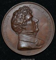 M00038 Différentes Réformes (enseignement, Exposition, Réorganisations) En 1851 Et Charles Rogier Au Revers (56 Gr.) - Unclassified