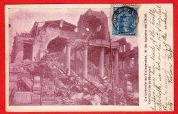 CPA: Chili - Catastrofe De Valpariaso 16 De Agosto De 1906 - Templo De La Merced - Chile