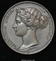M00049 Universal Exhibition London 1862 Et Victoria Au Revers (46 Gr.) - Royaux/De Noblesse