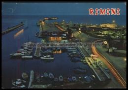 S8208 RIMINI DI NOTTE PORTO CANALE E DARSENA VG - Rimini