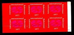 "6 Vignettes:  Année Internationale RUBENS"" - ANTWERPEN / ANVERS - 1977 - ** - Viñetas De Fantasía"