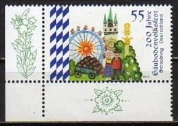 """BRD Eckrand Postfrisch Nr.2950 """" Gäubodenvolksfest """" - BRD"""