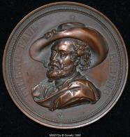 M00072 Souvenirs Des Fêtes Célébrées En L´honneur De P.P. Ruben à Anvers En 1840 Et Son Profil Au Revers (142 Gr.) - Belgium