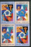 Lot 17 - B 19 - Azerbaïdjan** N° 538 - 539 En Bloc De 2 Séries - Europa - Année 2006 - Azerbaïjan
