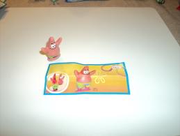 Kinder Surprise SpongeBob - Bob Esponja - Bob L´Eponge TR 119 Patrick - Patricio + Bpz E/P - MonoBlocks