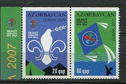 Lot 19 - B 19 - Azerbaïdjan** (lot 2) N° 580 - 581  - Europa - Année 2007 - Azerbaïjan