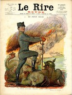 JOURNAL LE RIRE ROUGE  N°19 25 MARS 1915 - Newspapers